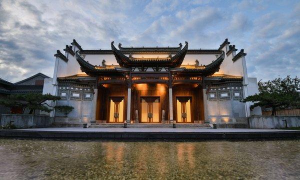 当酒店遇上明清徽派官厅,璞燊酒店用中国古建筑文化布局文旅发展