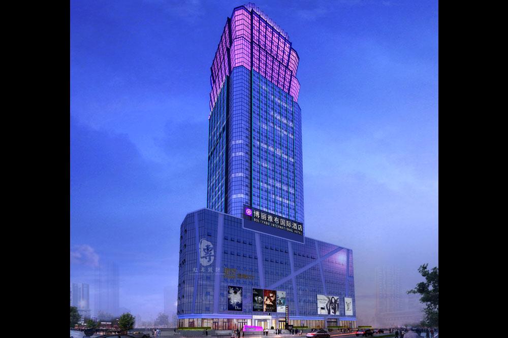 西宁唐道.博丽雅布国际酒店—红专设计